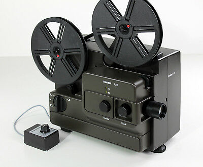 Super8 and Normal8 Film Projector Bauer T 23 for Digitization