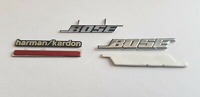Harman / kardon Bose Car Speaker Badge Sticker Ford VW BMW Audi Porsche Mercedes