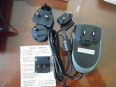 Trimble / TDS Nomad 800/900/1050/G-Series, AC Wall Charger Adapter Kit