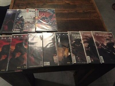 HALO WARHAMMER PERFECT DARK WARCRAFT BLOODRAYNE DMC COMIC LOT 39 issues