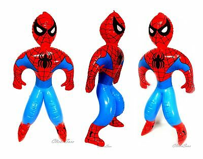 60cm Inflatable Spiderman Figures Toy Chracter Figure Super Hero Amazing Role