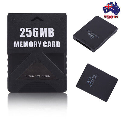 Sony PlayStation 2  MEMORY CARD FOR PLAYSTATION 2 8/16/32/64/128/256MB -BLACK
