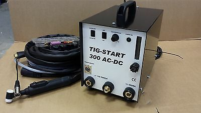 TIG-START 300 AC/DC HF TIG BOX: converts a stick welder to a tig welder