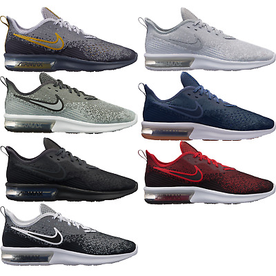 73682a2a13 Nike Air Max Sequent 4 Men's Running Shoes Lifestyle Comfy New Sneakers