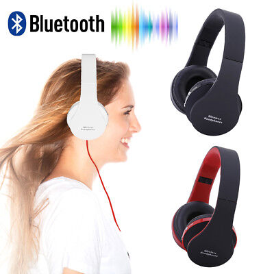 NX-8252 head mounted Bluetooth headset with foldable wireless stereo #Z
