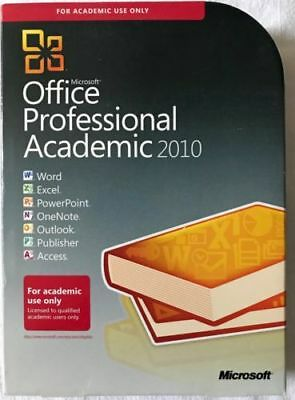 Microsoft Office Professional Academic [2010] Free Shipping