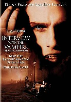 Interview with the Vampire - Tom Cruise, Brad Pitt, Kirsten Dunst - New