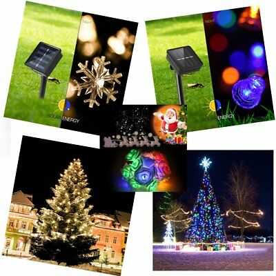 20 LED Outdoor Solar Power Fairy String Light Garden Colorful Wedding Party Deco