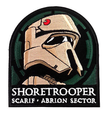 """Star Wars Shoretrooper Deluxe 4"""" Embroidered Patch- USA Mailed (SWPA-KL-29)"""