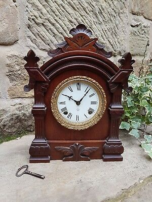 A Lovely old American mantle Clock - 8 Day Trieste Strike - by Ansonia c1870