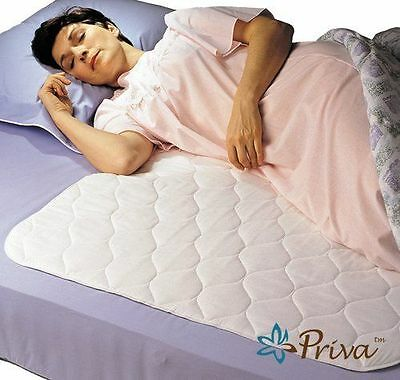 New Bed Waterproof Sheet Protector Pad Mattress Cover Absorbs Wetting Sleeper