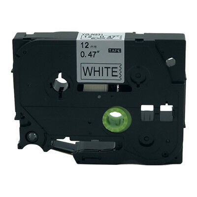 Compatible for Brother P-Touch TZ  Label Tape Cartridge TZe-N231 Black on White