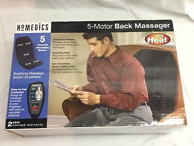 Homedics Five Motor Massage Cushion with Heat Model CM-5