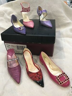 Lot of Six (6) Just the Right Shoe, Step Into Elegance