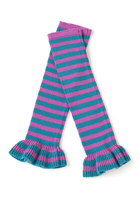 Matilda Jane Jazz Hands Leg Warmers One Size Purple/Lavender Teal Blue