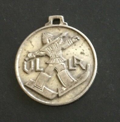ULLR Ski Patrol Good Luck Token Italian U.L.L.R. Necklace