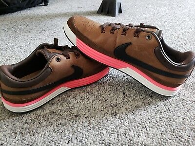 new products ce0f2 7765b Men s Nike Lunar Waverly Golf Shoes, Baroque Brown size 7.5