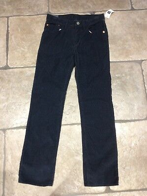 BNWT Boys Gap Navy Corded Jeans Age 12 Years