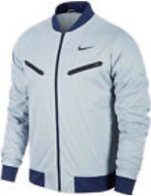Nike Men's Premier Rafa Rafael Nadal Tennis Jacket Size Large Color Blue/Gray