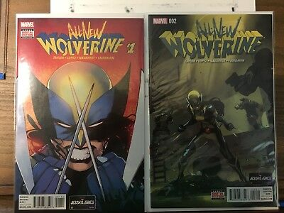 All New Wolverine #1 - 6 First Prints
