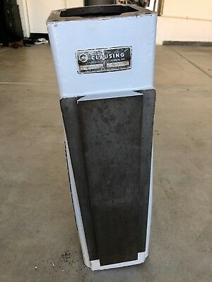 CLAUSING 8520 8525 VERTICAL KNEE MILL COLUMN w/ BADGES and HARDWARE