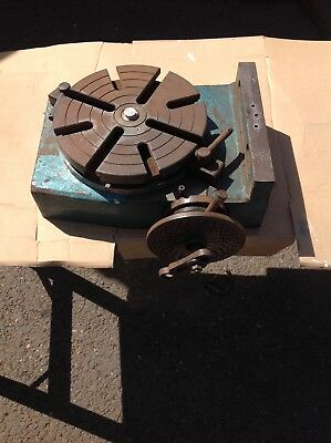 "8"" engineers rotary dividing table"