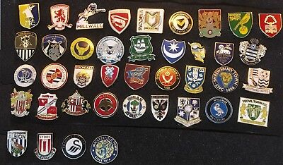 English Football League Enamel Badges M - Z