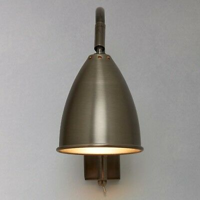Chelsea Pewter effect wall light from John Lewis - Pair