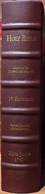 "1769 ""Revised Standard Oxford Edition"" of the 1611 King James Bible Facsimile"