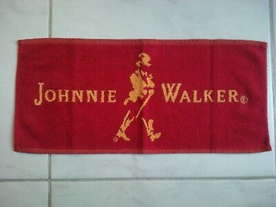 Serviette de bar whisky JOHNNIE WALKER