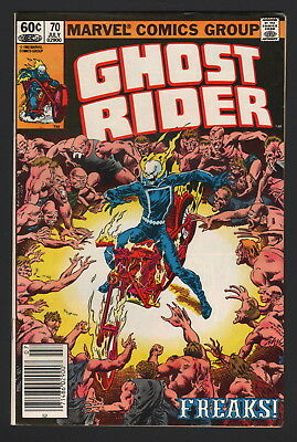 GHOST RIDER - Lot of 3, #70, #71, #72, 1982, Marvel Comics, NM- CONDITION