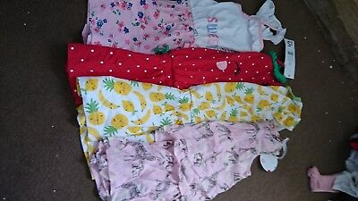 Girls Playsuits 3-4 Years