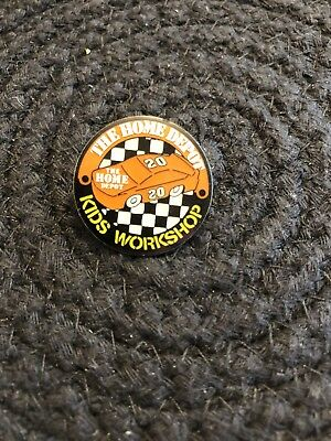 The Home Depot Kids Workshop Tony Stewart Race Car Pin