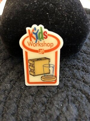 Kids Workshop Home Depot Coasters Pin