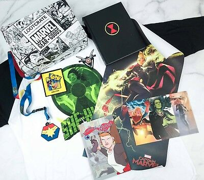 Loot Crate Marvel Gear+Goods TAKE THE LEAD Capt. Marvel, Squirrel Girl She-Hulk
