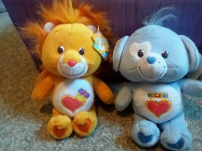 Care bears Special Edition -Brave Hearts Lot of Two! NWT