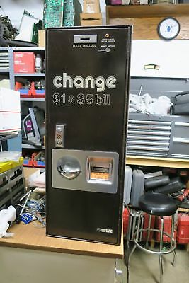 Rowe BC-1 Bill Changer. Coins or Tokens. Works Great