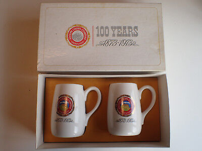 Adolph Coors Co 1873-1973 Commemorating 100 Years Mug Breweriana Gift Set in Box