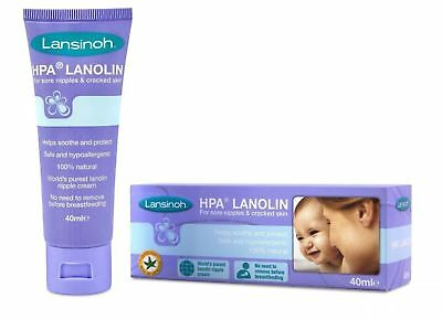 Lansinoh HPA Lanolin cream, 40ml - FREE DELIVERY