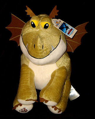 Build a Bear Meatlug How To Train Your Dragon Teddy HTTYD Exclusive Stuffed Toy