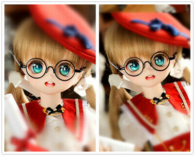 Vintage BJD Doll Oval Glasses For 1/6 YOSD 1/4 MSD  Doll Accessories GS3-4