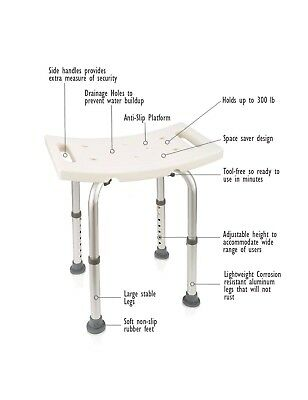 Transfer Benches Dr. Maya Adjustable And Chair Shower Bench