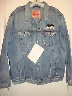 Levi's Jim Phillips Trucker Jacket NWT size XL