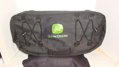 Heavy canvas John Deere lawn mower tractor toolbag #92557 new w/o tags