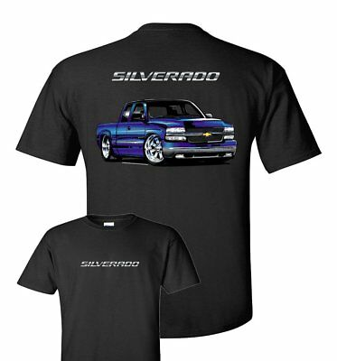 T-Shirt with 2000 Chevrolet Silverado SS Pickup Truck