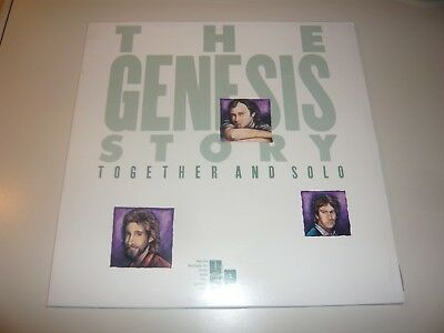 Genesis Story Together Solo Promo Vinyl Record Album 3 LP Radio Show Phil Collin