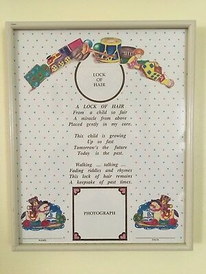Keepsake Frame For Baby Memento