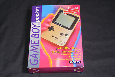 NEW Nintendo  Game Boy Pocket Console GOLD MGB-S-DA(JPN)   JAPAN Import GB