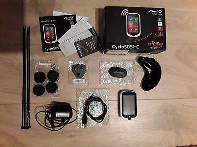 Fahrrad Navigationssystem Cyclo 505 HC (MIO) Bicycle navigation
