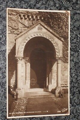 Whippingham Church  Old Doorway   I.o.w.   Photo  Postcard Vintage Unposted  Vgc